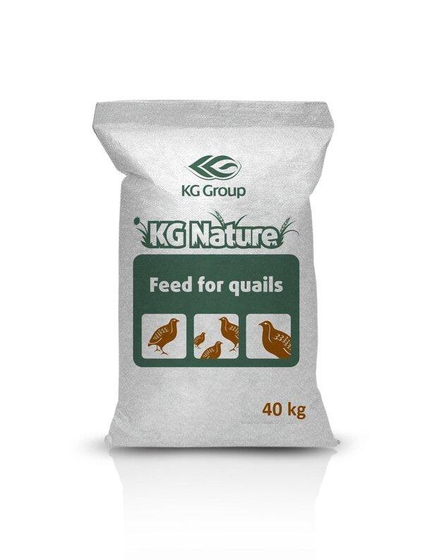Lesalas putpelėms KG NATURE BE GMO, 40 kg