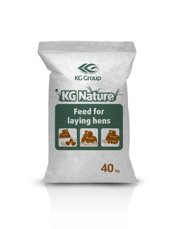 Lesalas vištoms dedeklėms III periodas ( 65 sav. ir daugiau ) KG NATURE BE GMO, 40 kg